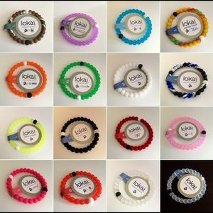Bundle of 15 Lokai Bracelets (many sizes)